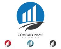 Business Finance professional logo template. Icon Stock Photography