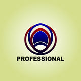 Business Finance professional logo template vector icon Stock Photos