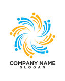 Business Finance professional logo vector Royalty Free Stock Photography