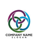 Business Finance professional logo vector. For financial business insurance abstract Stock Image