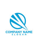 Business Finance professional logo vector. For financial business insurance abstract Stock Photography