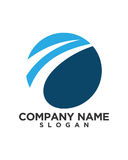 Business Finance professional logo vector Royalty Free Stock Photo