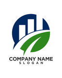 Business Finance professional logo vector Royalty Free Stock Images