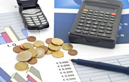 Business and finance-shallow dof Stock Photo