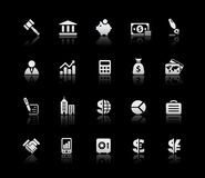 Business & Finance // Silver Series Royalty Free Stock Photos