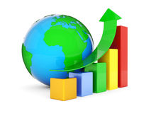 Business finance. Statistics, analytic, tax and accounting Royalty Free Stock Photography
