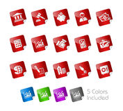 Business & Finance // Stickers Royalty Free Stock Images