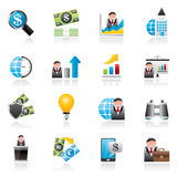 Business and Finance Strategies  Icons Royalty Free Stock Photo