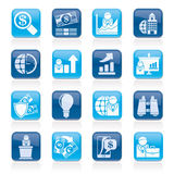 Business and Finance Strategies  Icons Stock Photo