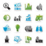 Business and Finance Strategies  Icons Royalty Free Stock Photos