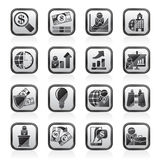 Business and Finance Strategies  Icons Stock Photography