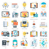 Business and finance theme, flat style, colorful,  icon se. T for info graphics, websites, mobile and print media Royalty Free Stock Photo