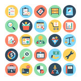 Business & Finance Vector Icons 4. Get for your next business and financial designs, You can use this business and finance  icons as you like, the set will Royalty Free Stock Photography