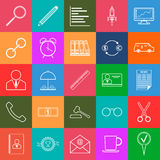 Business and finance vector icons Royalty Free Stock Image