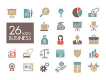 Business and finance web outline icon set. Graph symbol for your web site design, logo, app, UI. Vector illustration, EPS10 Stock Photo