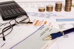 Business finances Royalty Free Stock Photo