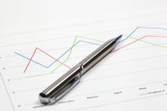 Business of financial analytics Royalty Free Stock Photography