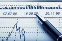 Business and financial concept Stock Photo