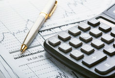 Business and financial concept Stock Image
