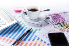 Business Financial concept. Stock Photos
