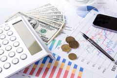 Business Financial concept. Stock Photography