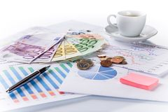 Business Financial concept. Royalty Free Stock Photography