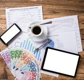 Business Financial concept. Stock Image