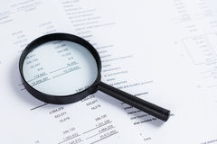 Business financial data Royalty Free Stock Images