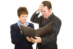 Business Financial Disaster Stock Image