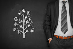 Business and financial growth Stock Images