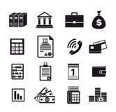 Business financial iconn Stock Photos