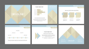 Business financial report layout Royalty Free Stock Image