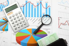 Business and financial still life Royalty Free Stock Images
