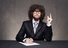 Business finger Stock Image
