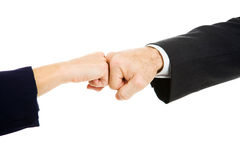 Business Fist Bump Stock Photography