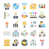 Business Flat Colored Icons 12. Get for your next business designs, You can use this business  icons as you like, the set will pretty fit to the business website Stock Images