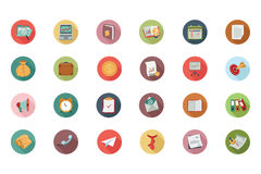 Business Flat Colored Icons 1. Get for your next business designs! You can use this business icons pack any way you like, the set will pretty fit to the business Royalty Free Stock Images