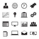 Business Flat Generic Icons Set Royalty Free Stock Image