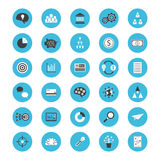 Business flat icon Royalty Free Stock Photos