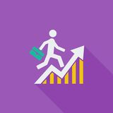 Business Flat Icon Stock Photos