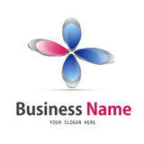 Business floral  icon design Royalty Free Stock Images