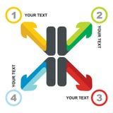 Business flow concept Stock Photos