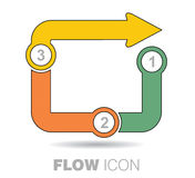 Business flow icon Royalty Free Stock Image