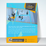 Business flyer, banner or template. Stock Image