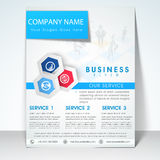 Business flyer, banner or template. Stock Photography