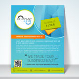 Business flyer, banner or template. Stock Photo