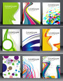 Business Flyer Bundle Royalty Free Stock Photography