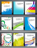 Business Flyer Bundle Royalty Free Stock Images