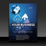 Business Flyer or Cover Design Royalty Free Stock Photography