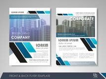 Business flyer cover design Royalty Free Stock Photography